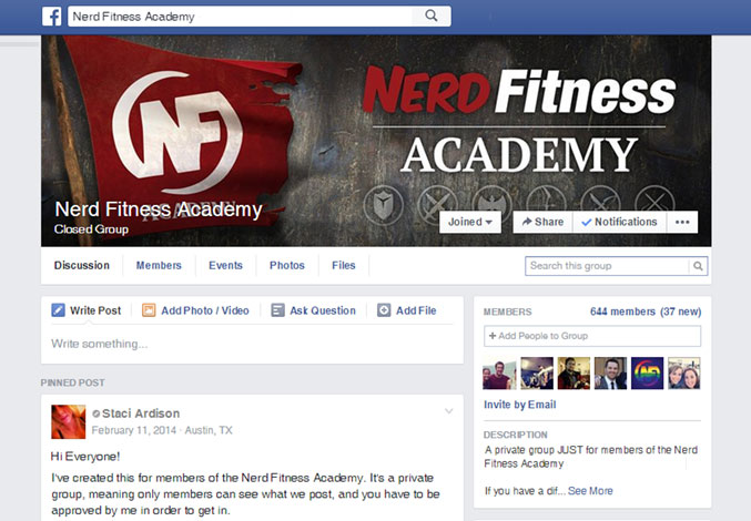 Academy-Facebook-Group