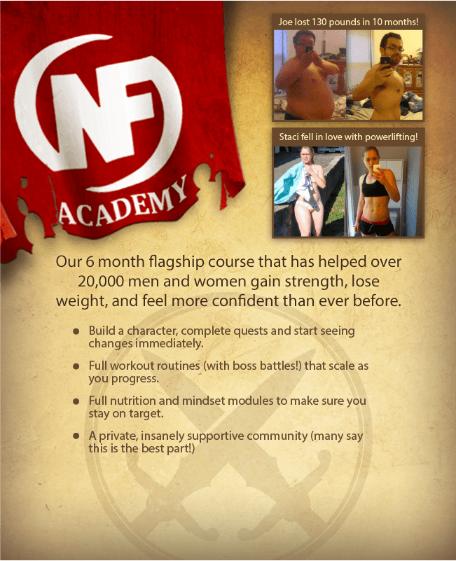 The Nerd Fitness Academy