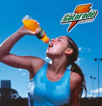 She drinks gatorade, should you?