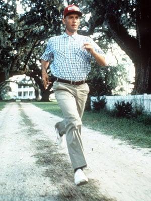 I WAS RUNNING!