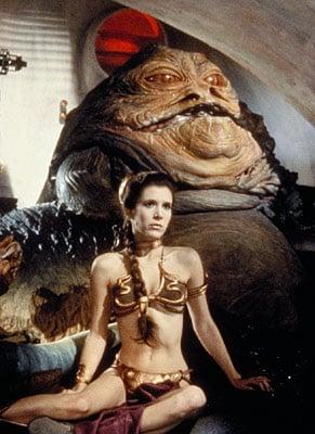 Leia's BMI: 19.  Jabba's BMI: 5432