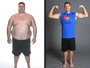 You think this guy gave up after losing the weight? Hell no!