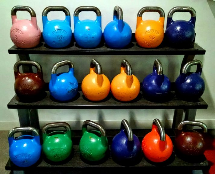 Kettlebells can be used in circuits to help build a perfect workout.