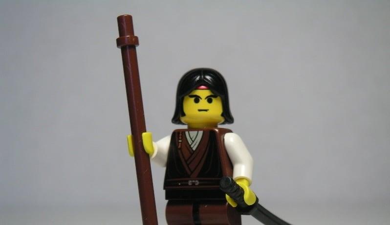 Lego Monk