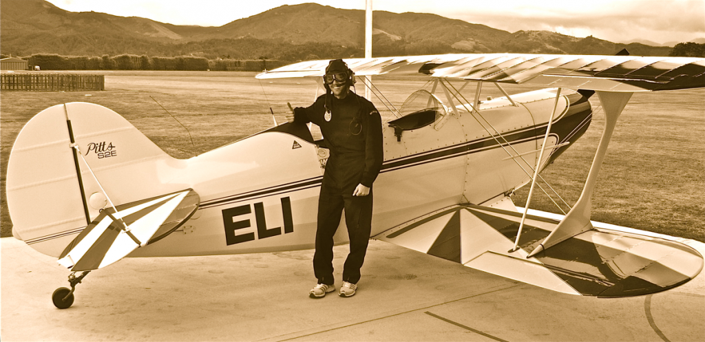 Epic Quest Update #4: Steve Pilots a Stunt Plane