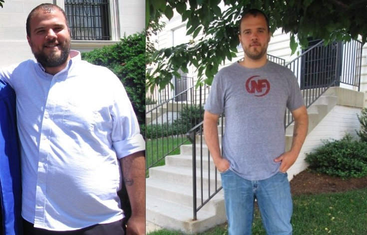 Tony's Awesome Success Story: 4 Months, 46 Pounds Lost. Win.