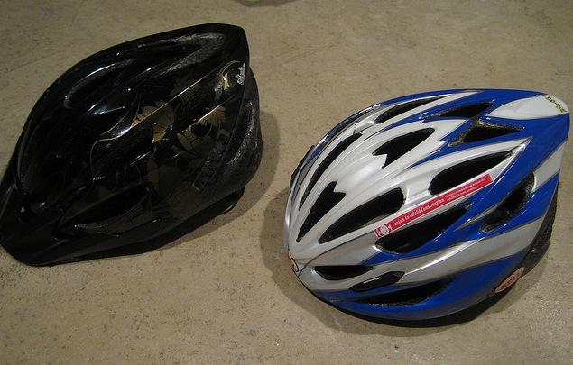 how to make a bike helmet smaller