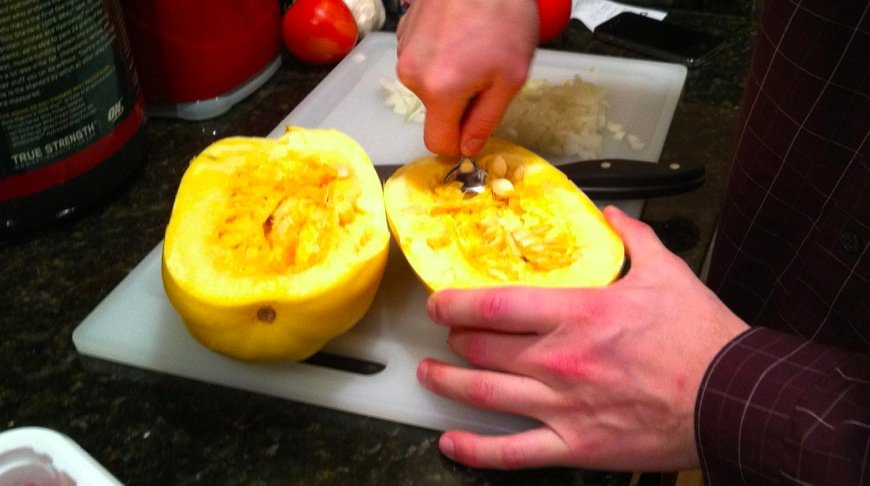 Scoop that Squash, SCOOP IT!