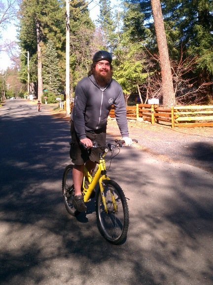 NF reader seth on a bike