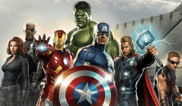 Super Hero Avengers Assembled