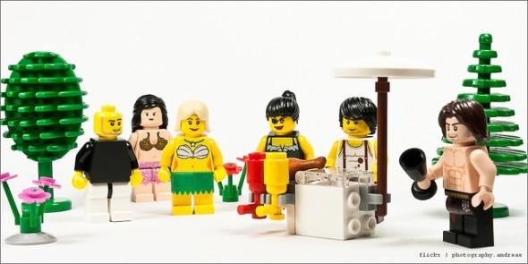 Lego BBQ