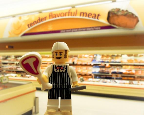 Lego BBQ Paleo Shopping Trip