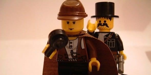 Lego Fitness Skeptic Sherlock Holmes