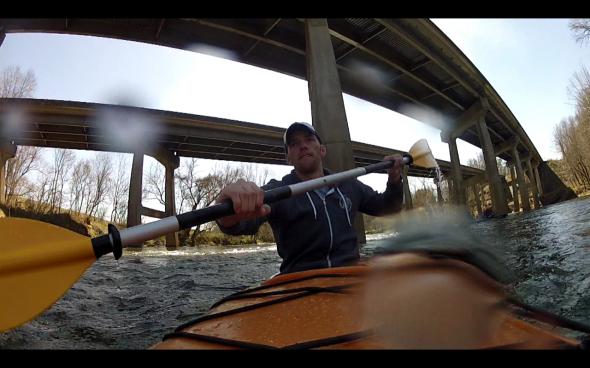 Steve Kayaking