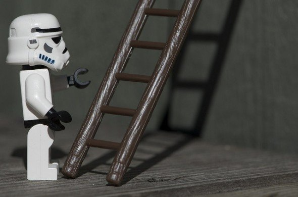 Lego Storm Trooper Ladder