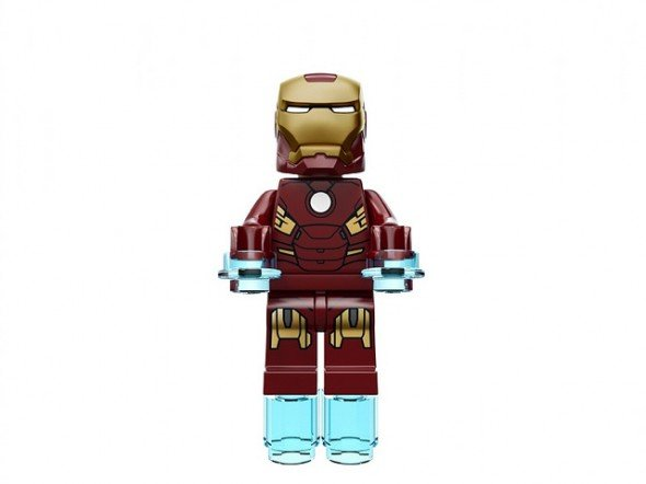 """Iron Man flying """"over it"""""""
