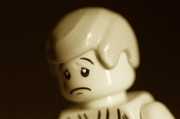 Sad Lego Get Over It