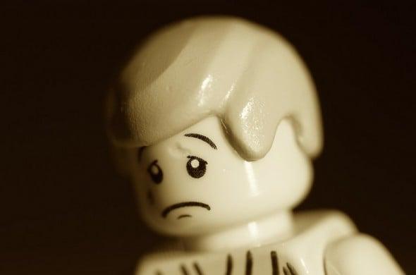 Sad Lego Get Over It