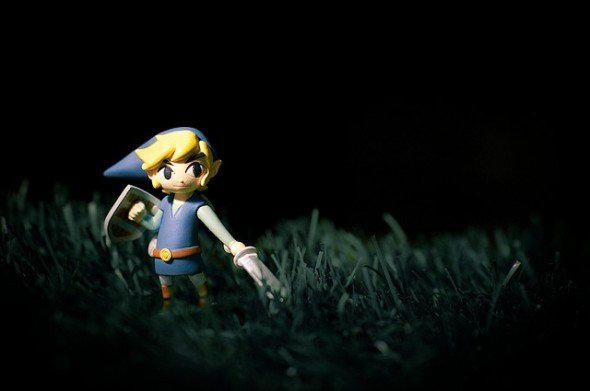Zelda: Link in Grass