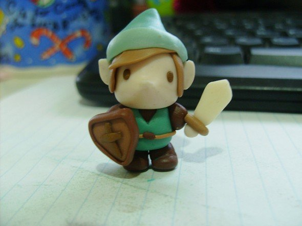 Small Clay Link