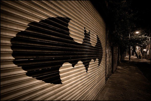 batman garage door