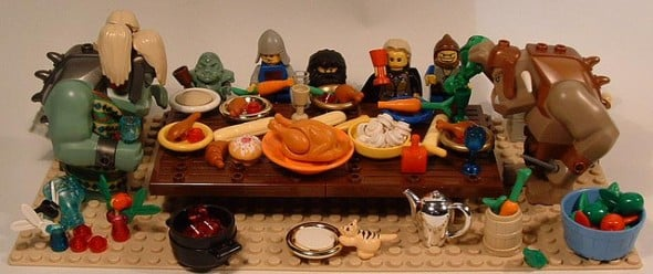 turkey legos