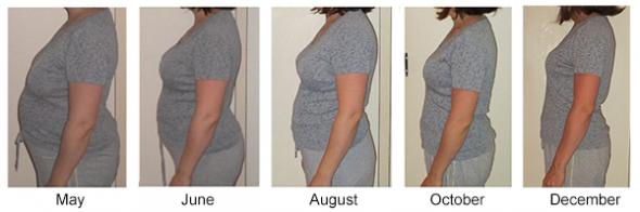 Athena Progress Pictures May through December
