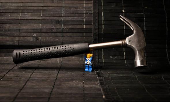 lego man hammer