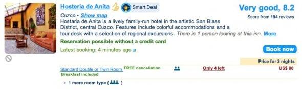 Booking Hotel in Cusco