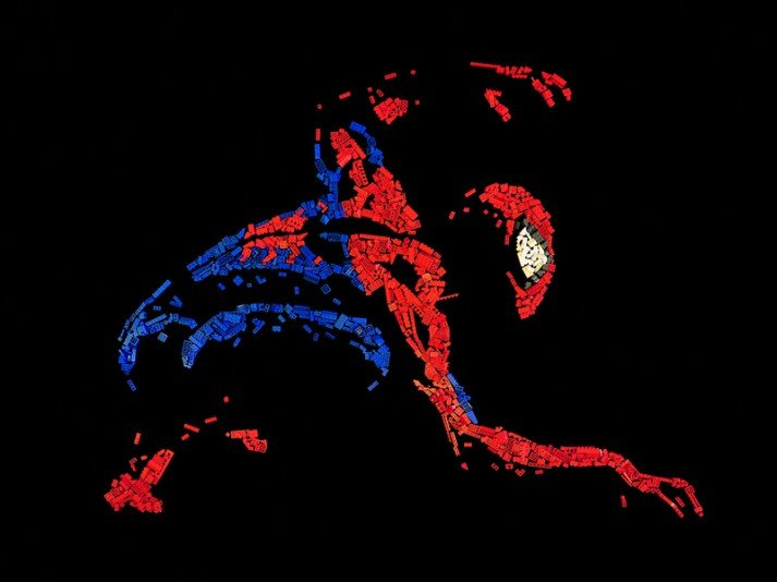 spiderman mosiac