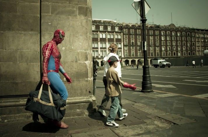 spiderman work