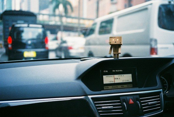traffic jam danbo