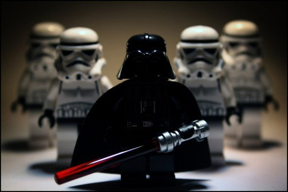 Darth Vader Storm Troopers
