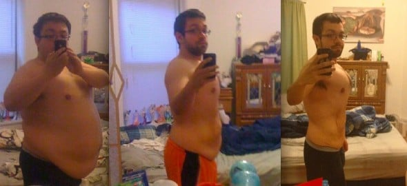 Remember the Guy who Dropped 128 Pounds in 10 Months? He's Still Kicking Ass.