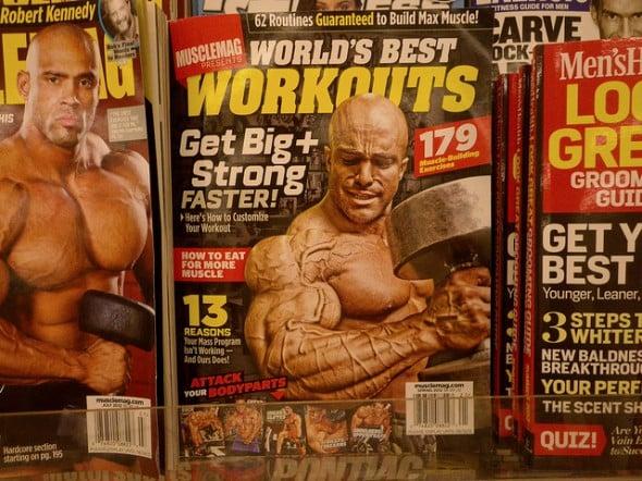 bodybuilder magazines