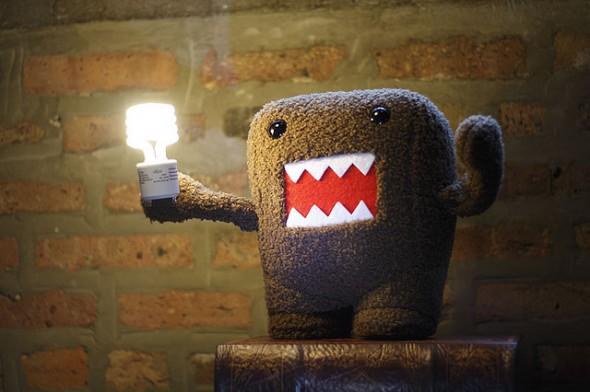 light bulb epiphany