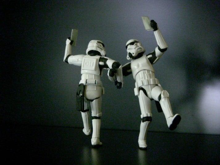 small talk storm trooper