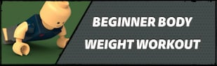 Beginner Body Weight Workout: Burn Fat, Build Muscle