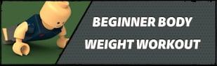 Beginner Body Weight Workout: Burn Fat, Build Muscle