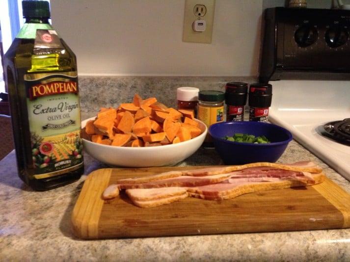 Sweet Potato  Ingrediants