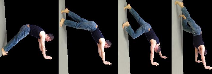wall handstand
