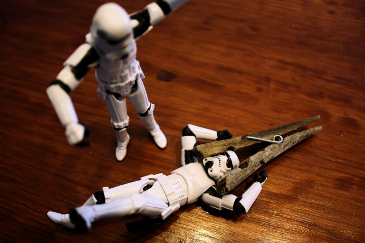 stormtrooper stuck