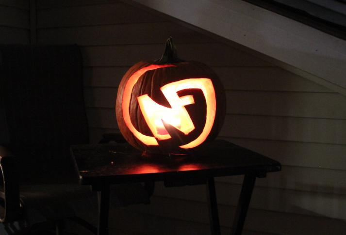 Nerd Fitness Pumpkin