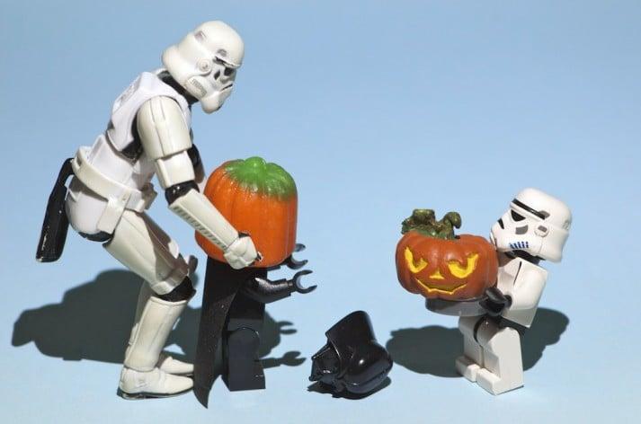 star wars pumpkin lego