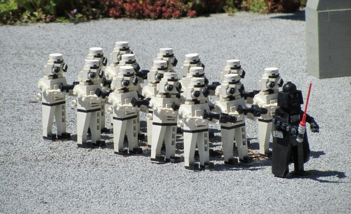 Lego Marching