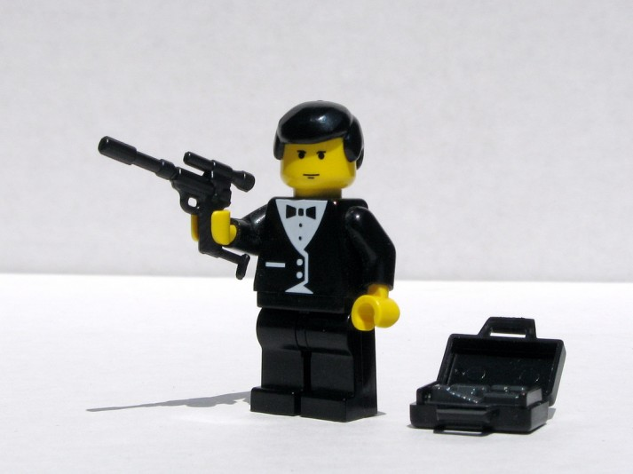 james bond lego