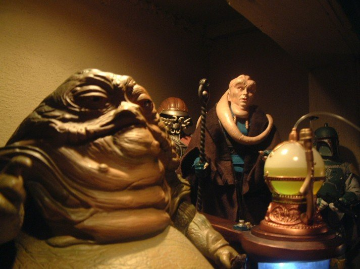 A toy set of Jabba's palace