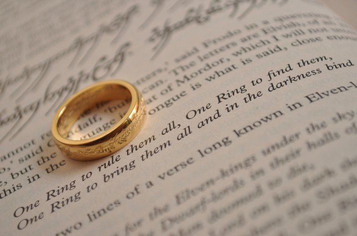 German Wedding Rings 55 Marvelous LOTR Ring