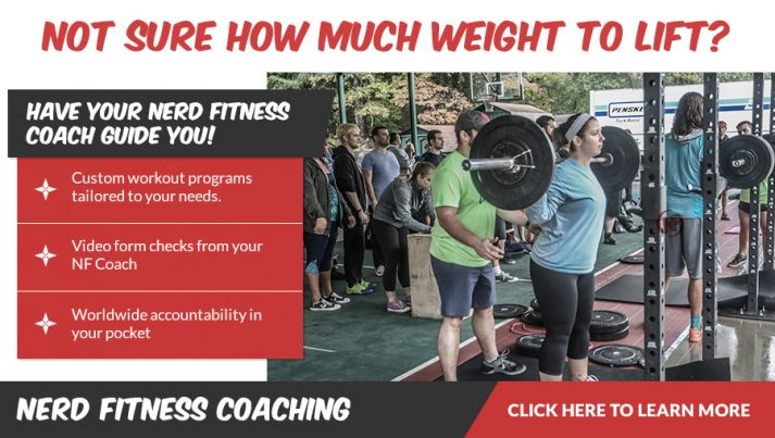 Nerd Fitness Coaching Ad