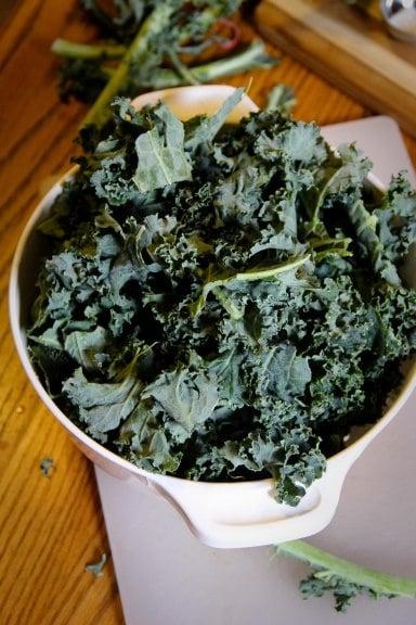 bowl kale